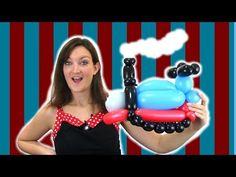d062ed86c67 Train Balloon Twisting Tutorial - Choo Choo!