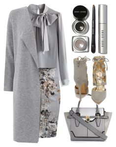 """""""Untitled #195"""" by thysania ❤ liked on Polyvore featuring Chicwish, Warehouse, River Island, Shoe Republic LA and Bobbi Brown Cosmetics"""