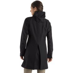 Bon Vivant Jacket: At home on streets and sidewalks when the rain comes in sideways. The Bon Vivant Jacket has a long cut that offers protection combined with ease of movement. Vancouver Style, Mountain Equipment, Long Cut, Rain Coats, Jackets For Women, High Neck Dress, Free Shipping, My Style, Closet