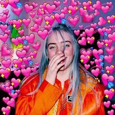 Billie Eilish // Heart meme