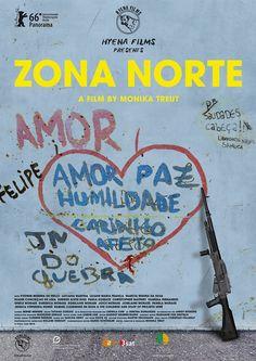 Zona Norte by Monika Treut. #Berlinale Panorama. Poster.