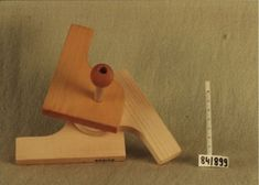 Modular wooden toy, by Renate Müller, 1984