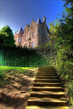 Belfast Castle, Ireland  photo via karla