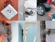 Tout réparer soi-même Toilet Paper, Door Handles, Life Hacks, Home Improvement, Household, Paper Crafts, Home Appliances, Diy, Fixation