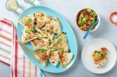 Grilled Corn, Zucchini, and Black Bean Quesadillas recipe