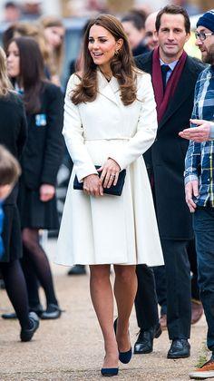 La Duquesa de Cambridge en Max Mara                                                                                                                                                      Mais