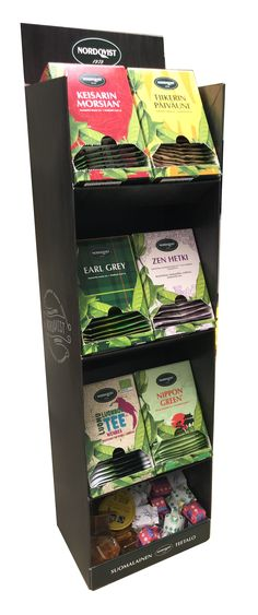 NEW Nordqvist FastGrab collection for Horeca. Earl Gray, Tea Time, Green, Collection
