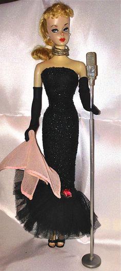 "#2 Ponytail Barbie In ""Solo In The Spotlight"" (1960-1961)"