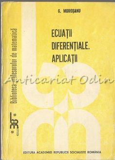 Ecuatii Diferentiale. Aplicatii - G. Morosanu Socialism, Paper Shopping Bag
