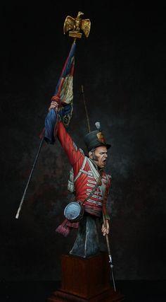 Sergeant Masterson, 87th regiment, Barrosa 1811, painted by Ernest