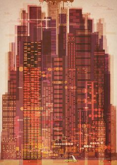 Childrens book - test images by James Gilleard, via Behance