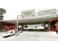 Under the Bridge project, Lisboa, 2013 - 560 architects