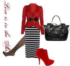Love!!! Except I wouldn't wear the shoes and I wouldn't take the purse...but the outfit itself is cute!