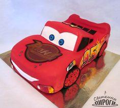 Lightning McQueen cars Cake Теперь и в моей коллекции тортов появился главный герой мультфильма «Тачки» – гоночная машина МакКуин по кличке «Молния». Пишите ваши отзывы, делитесь с друзьями, будет интереснее жить! https://vk.com/svetkintort http://vk.com/album-77636648_210214078 https://vk.com/svetkintort #светкиныпироги #торт #мастика #украшение #cake #тортназаказ