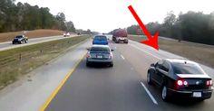 Focus.de - Machtgehabe auf der Autobahn: Das passiert, wenn man sich vor einen Lkw drängeln will - Video - Video