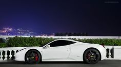 White 458 Red brakes