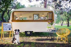 Tom Collins Caravan Bar ....It's.... wait for it.... Bar-illiant!!!!