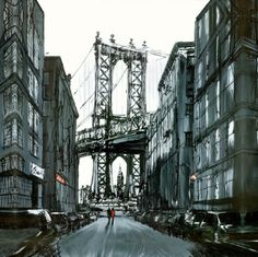View and buy the latest artwork from Paul Kenton. We have a large collection of Paul Kenton artwork. Paul Kenton, Skyline Painting, Urban Painting, Bronx Zoo, Nyc Art, Fire Art, New York Art, A Level Art, Amazing Drawings