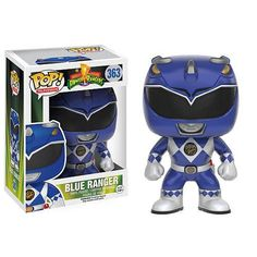 Funko POP! Television: Mighty Morphin Power Rangers Vinyl Figure - Blue Ranger