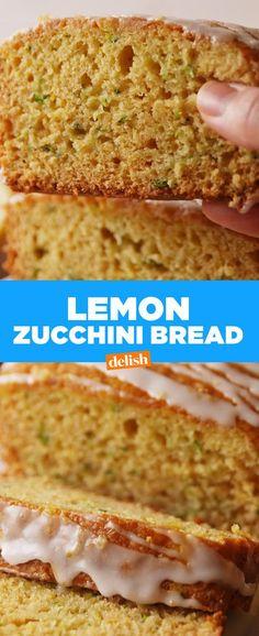 Lemon Zucchini BreadDelish