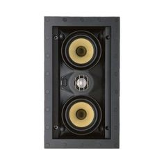 "SpeakerCraft - Profile Series Dual 3"" Passive 2-Way In-Wall Speaker (Each) - White, ASM54651-2"
