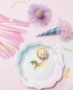 Eenhoorn feestartikelen in pastel kleur, nu online