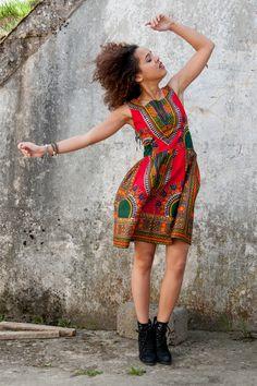Dress from Gambia - Addis Abeba di KOKOworld su DaWanda.com