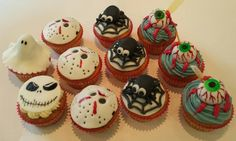 Friday the 13th cakes from La Petite Patisserie. I want the eyeball one!