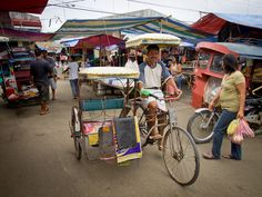 Hilongos market taxi, Leyte, the Philippines.