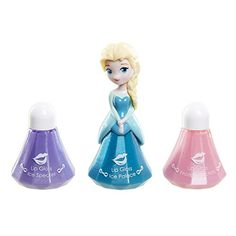 Frozen Little Kingdom Makeup Set: Elsa Blue Lip Gloss New innovation in makeup play Each set includes 1 Princess and 2 refills The collection includes Anna & Elsa in different outfits! For ages 5 and up Disney Princess Toys, Disney Toys, Kids Makeup, Makeup Set, Toy Cars For Kids, Toys For Girls, Lol Dolls, Barbie Dolls, Elsa Character