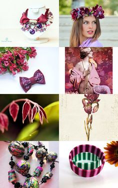 Spring in Purple  by Elena Doniy on Etsy--Pinned with TreasuryPin.com Around The Worlds, Purple, Spring, Etsy, Purple Stuff