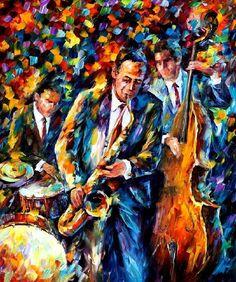 THE LOVELY TRIO - PALETTE KNIFE Oil Painting On Canvas By Leonid Afremov - http://afremov.com/THE-LOVELY-TRIO-PALETTE-KNIFE-Oil-Painting-On-Canvas-By-Leonid-Afremov-Size-30-x36.html?utm_source=s-pinterest&utm_medium=/afremov_usa&utm_campaign=ADD-YOUR