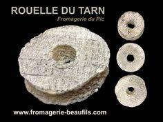 Francia  - Rouelle du Tarn.- Leche de cabra, pasta blanda, corteza natural, aspereza suave, textura cremosa. Elaborado por: Fromagerie Le Pic en Penne
