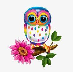 Super cute Lisa Frank like owl. Owl Clip Art, Owl Art, Owl Pictures, Owl Always Love You, Beautiful Owl, Owl Crafts, Wise Owl, Lisa Frank, Cute Art
