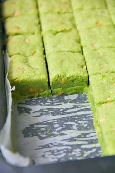 Matcha and White Chocolate Chip Shortbread