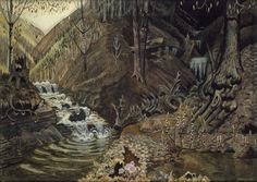Charles Burchfield, The Coming of Spring, 1917-43