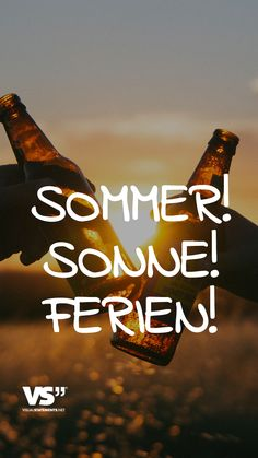 Sommer! Sonne! Ferien! - VISUAL STATEMENTS®