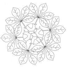 Autumn mandala coloring pages Fall Coloring Pages, Mandala Coloring Pages, Free Coloring, Adult Coloring Pages, Coloring Books, Quilting Templates, Quilting Designs, Mandala Pattern, Mandala Design