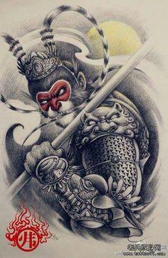 Wukong tattoo