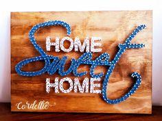 Home Sweet Home em String Art