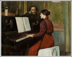 Le Prince Lointain: Santiago Rusiñol i Prats (1861-1931), Une Romance - 1894