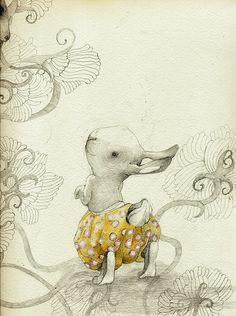 Illustration by Lina Kusaite  TEREMOKAS on Behance