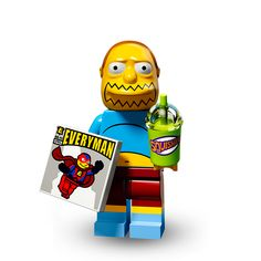 Lego SIMPSONS SERIE 2 : Comic Book Guy