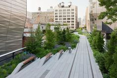 El jardín High Line, al oeste de Manhattan, recuerda, por su elevación, a una estación del metro del Loop de Chicago. Sólo que en lugar de cables hay ramas de árboles y en vez de graffiti, arbustos y plantas. Se trata de un jardín ingenioso, un espacio verde inesperado de...