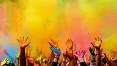 Happy Holi Festival of Colors Wallpaper Holi Festival Of Colours, Holi Colors, Portfolio Fotografia, Panoramic Photography, Photography Shop, Festival Photography, Color Photography, Selling Photos, Happy Holi