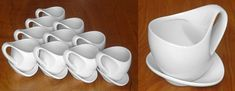 Neatly designed coffee cups!