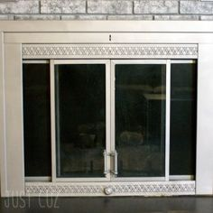 Fireplace Makeover – Part 2: Revamping a Fireplace Door