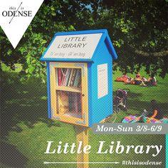 Little Free Library i Munke Mose. Put and take bøger i Munke Mose, helt gratis.. Læs anbefalingen på: http://www.thisisodense.dk/da/20459/little-free-library-i-munke-mose