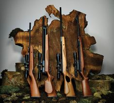 Air Rifles: 4 guns (rifles) you can choose from to get you hunting or plinking. With out the breaking the bank.