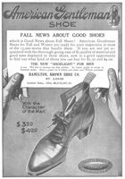American Gentleman Shoe 1905 Ad Picture